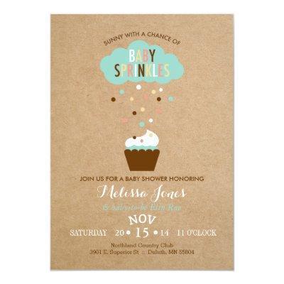 Cupcake Baby Sprinkle