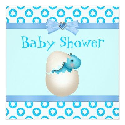 newly hatched dinosaur baby shower baby shower invitations | baby, Baby shower invitations