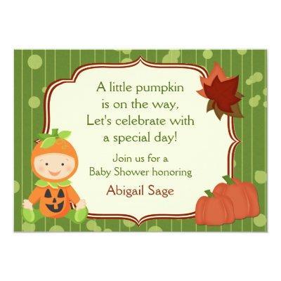 Cute Pumpkin Baby Halloween