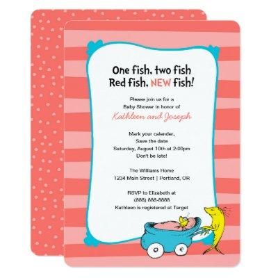 Dr. Seuss | One Fish - Girl