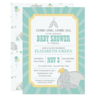 Dumbo | Neutral Baby Shower Invitations