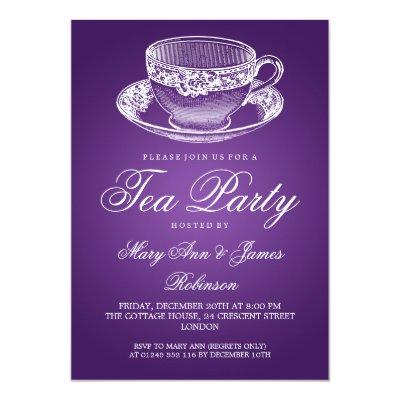 Tea Cup Baby Shower Invitations Baby Shower Invitations