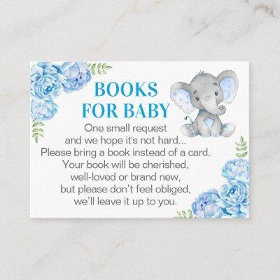 Elephant Books for Baby - Blue Book Request Card