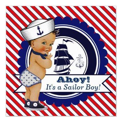 Ethnic Little Sailor Nautical