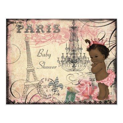 Ethnic Princess Paris Eiffel Tower