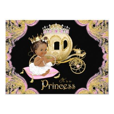 Ethnic Princess Pink Black