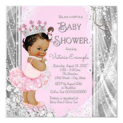 Ethnic Princess Tutu Pink Silver