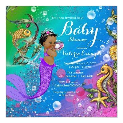 Ethnic Under the Sea Mermaid