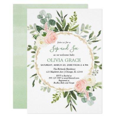 Meet And Greet Baby Shower Invitations