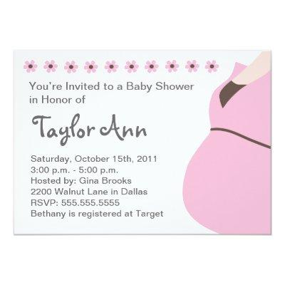 Expecting Mother Baby Shower Invitation