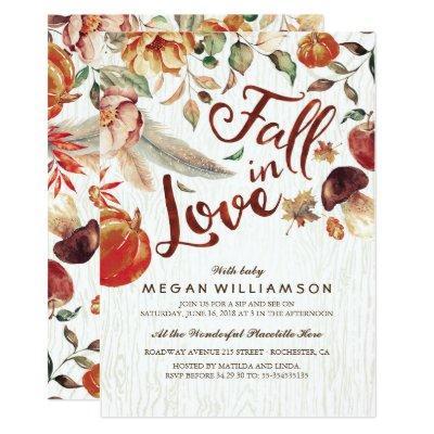 Fall in Love Autumn Harvest Pumpkin