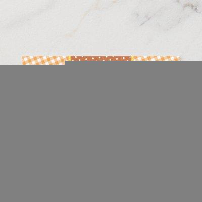 Fall Pumpkin Baby Shower Diaper Raffle Ticket Enclosure Card