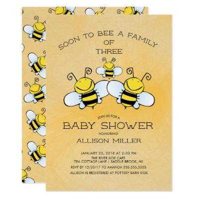 Family of 3 Bee