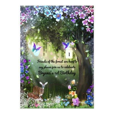 Enchanted Forest Baby Shower Invitations Baby Shower Invitations