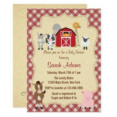 Farm Animal  Rustic