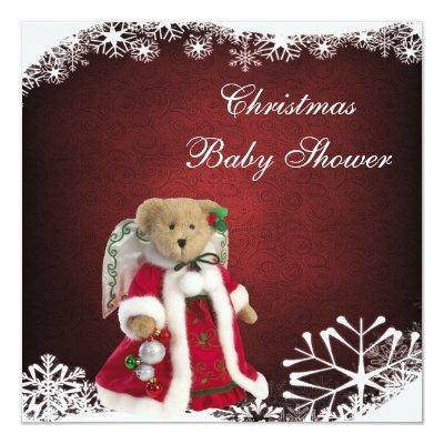 Festive Angel Teddy Bear Christmas