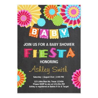 Fiesta  Mexican baby shower
