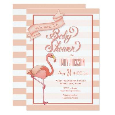 flamingo invitations flamingo invitations baby shower invitation invitations
