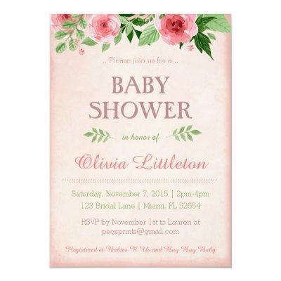 Floral  - Floral Shower