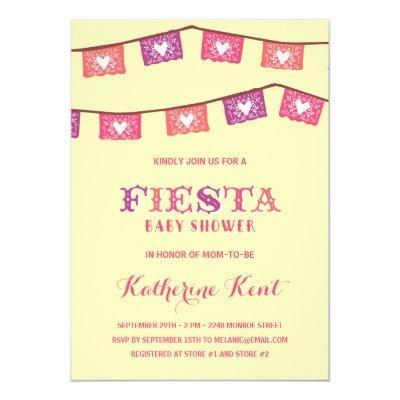 Fun Fiesta | Pink Girls Invitations