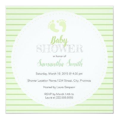 Non gender baby shower invitations baby shower invitations gender neutral green baby shower invitations filmwisefo