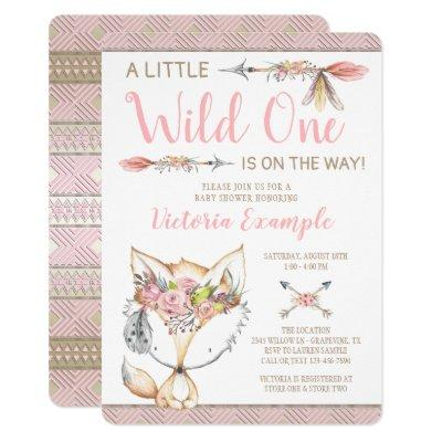 Girl Fox Wild One