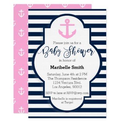 Girls Nautical