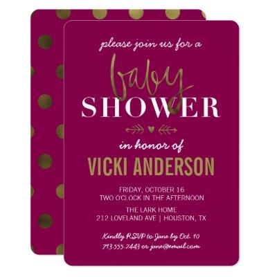glam baby shower invitation baby shower invitations | baby shower,