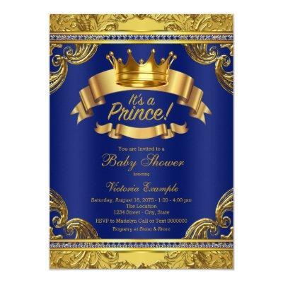 Gold Crown Royal Blue Fancy Prince