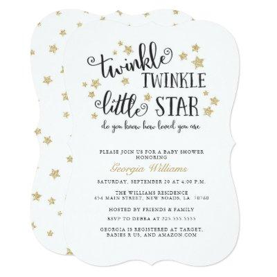 Gold Twinkle Twinkle Little Star