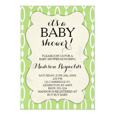 Add babies name baby shower invitations baby shower invitations add babies name baby shower invitations add babies name 1 to 6 of 6 green oval pattern filmwisefo