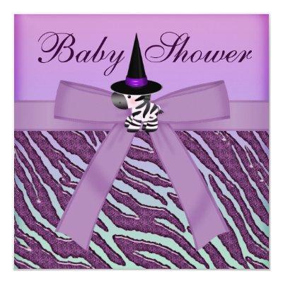 Halloween Zebra Purple Animal Print