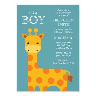 It's a Boy Sweet Giraffe