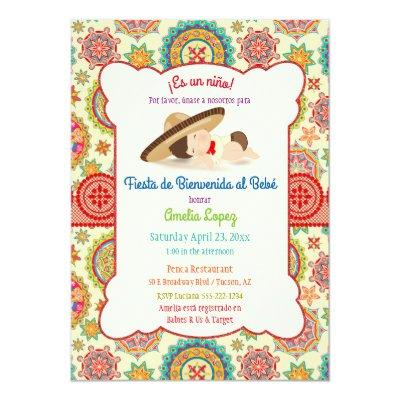 Baby Shower In Spanish Baby Shower Invitations Baby Shower Invitations