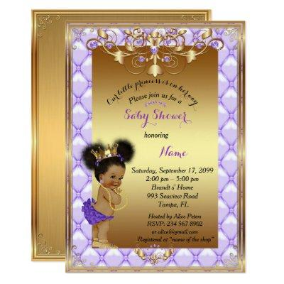 Little etnic Princess, Baby Shower Invitations, Invitations