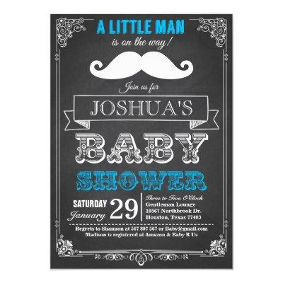 Little Man Mustache Bash
