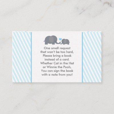 Little Peanut Book Request Card for Invite