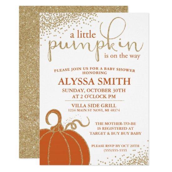 Little Pumpkin Fall