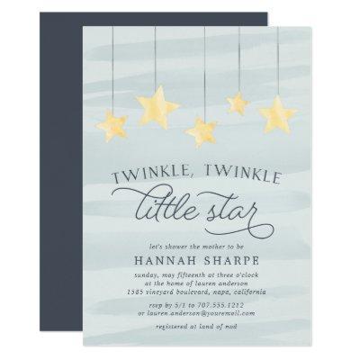 Little Star Baby Shower Invitations | Mint