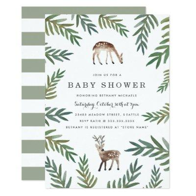 Loved Dearly Baby Shower Invitation