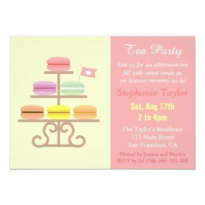 Dessert Party Baby Shower Invitations – Dessert Party Invitations