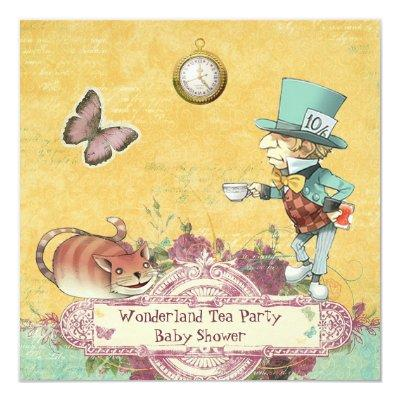 Mad Hatter's Wonderland Tea Party