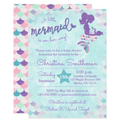 Mermaid  for a Baby Girl