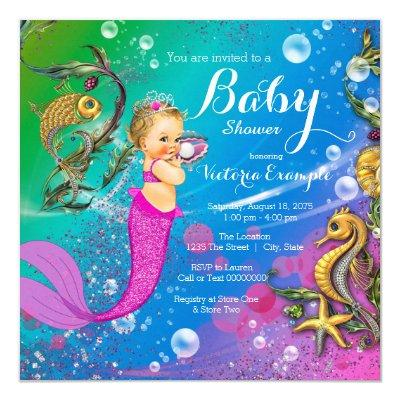 Mermaid Under the Sea Mermaid