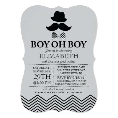 oh boy baby shower invitations baby shower invitations | baby, Baby shower invitations