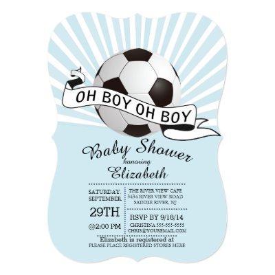 boy oh boy baby shower invitations | baby shower invitations, Baby shower invitations