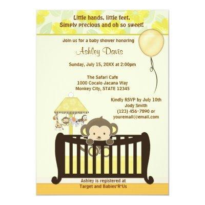 Monkey  Crib YELLOW CJ-Y