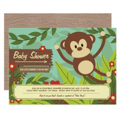Monkey Business Invites