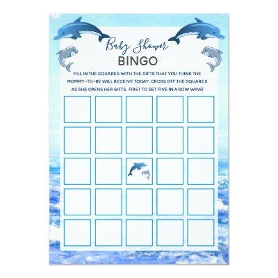 Dolphin baby shower baby shower invitations baby shower invitations mother and baby dolphin ocean baby shower bingo invitations filmwisefo