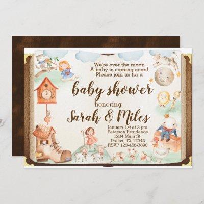 Mother Goose Baby Shower Invitation Invite
